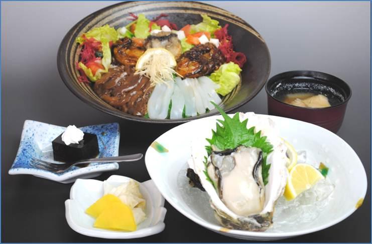 四季海鲜盖饭