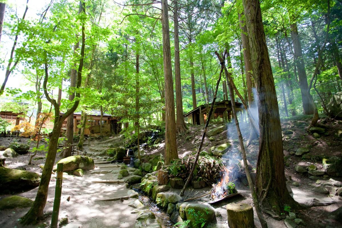山里料理三滝園