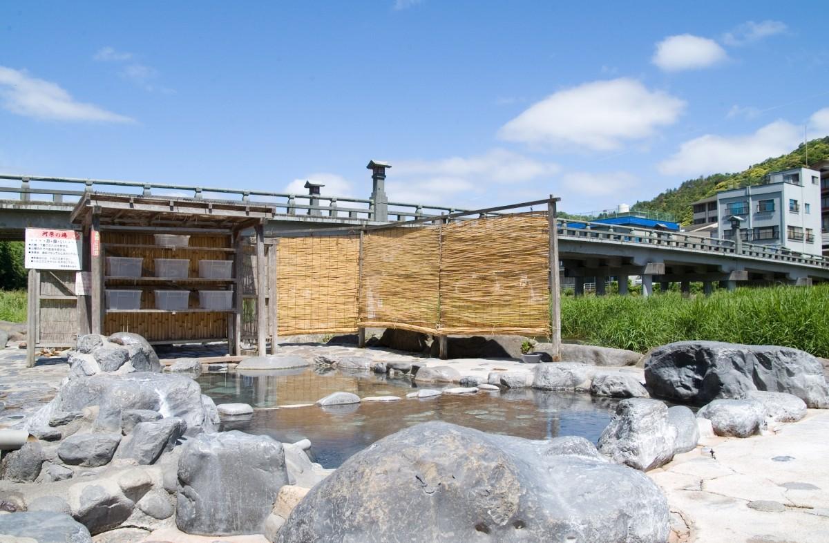 三朝溫泉河原風呂